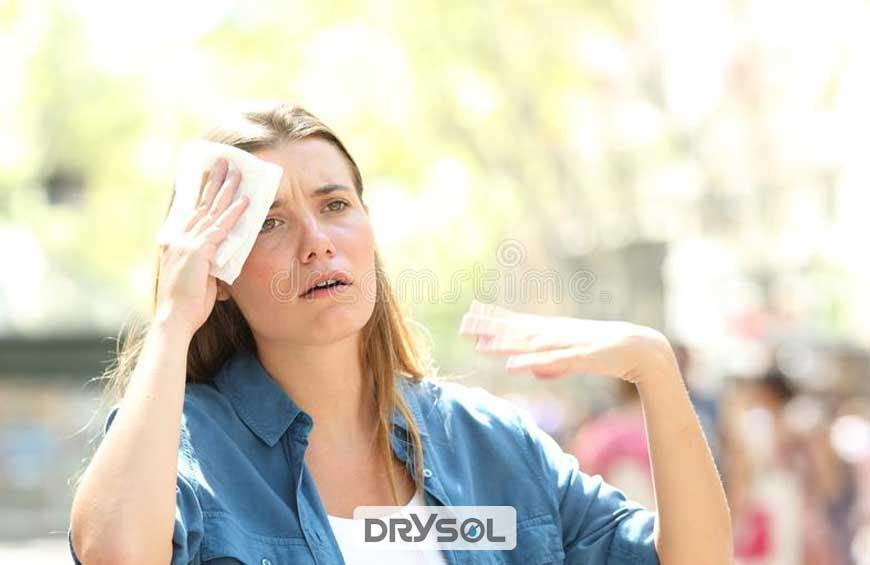 درایسول - جلوگیری از تعریق زیر بغل