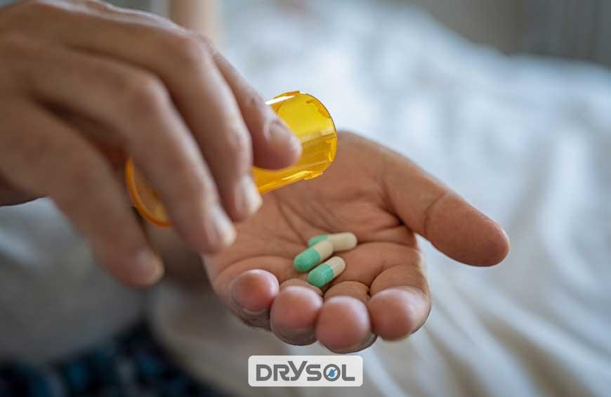 درایسول - درمان تعریق زیاد