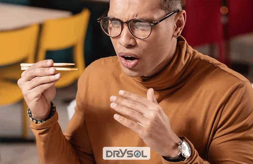 درایسول - کنترل تعریق و هایپرهیدروز