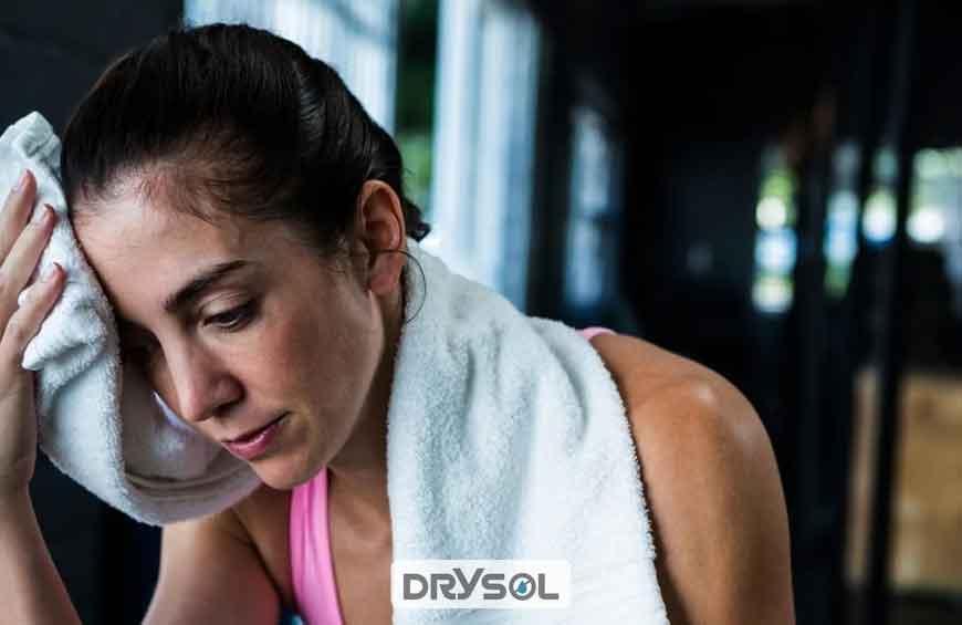 ضد تعریق درایسول - دلیل عرق بدن