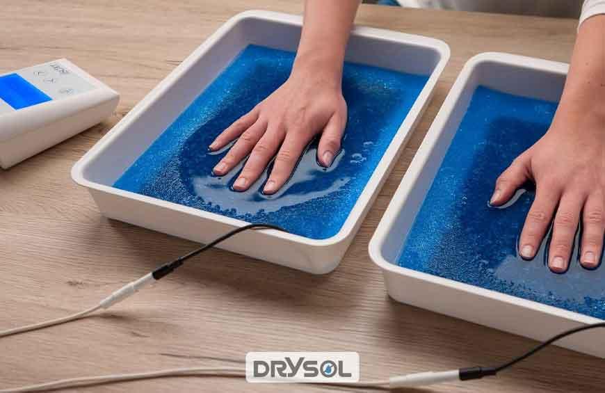 درمان عرق کف دست - درایسول